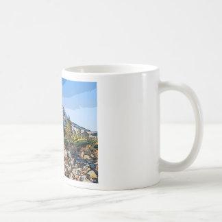 art-river classic white coffee mug