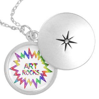 Art Rocks Locket Necklace