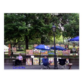 """Art Scene"" NOLA Post Card"