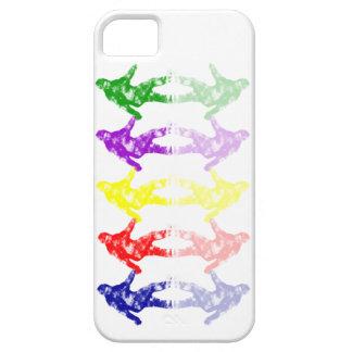ART SCHOOL SQUATCH - Colorful Bigfoot Logo iPhone SE/5/5s Case