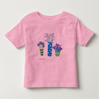 Art Shirt: Lots of Pots of Flowers Toddler T-shirt