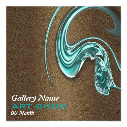 Art show jewelery opening launch CUSTOMIZE Card