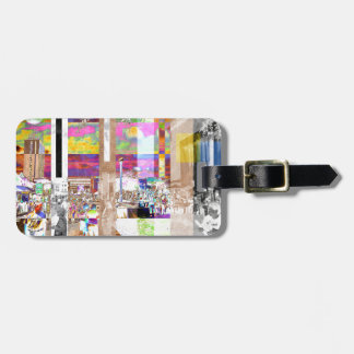 Art Show Montage Luggage Tag