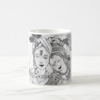 art sketch creative love divine painting sweet rom coffee mug