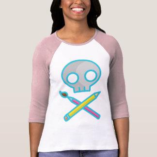 Art Skull T-shirt
