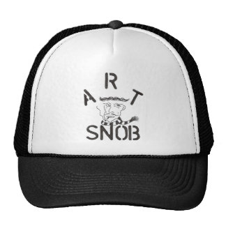"""Art Snob"" Trucker Hat"