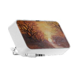 art speacker travelling speakers