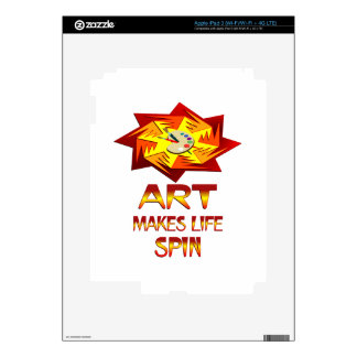 Art Spins Decal For iPad 3