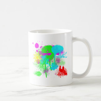Art Splatter Coffee Mug
