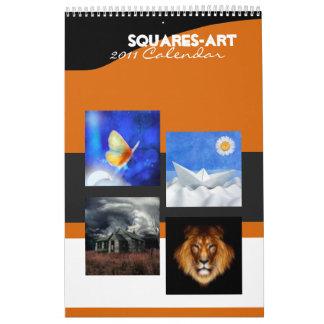 Art - Squares 2011 calendar