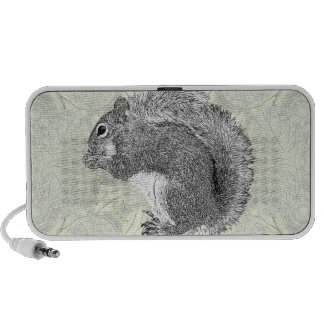 Art Squirrel iPod Speakers