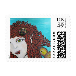 Art Stamp featuring 'Fiona' by Wendy Campbell