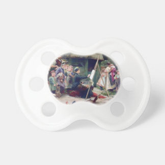 Art Student Holiday Painting Pacifiers