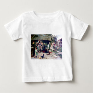 Art Student Holiday Painting Tee Shirt