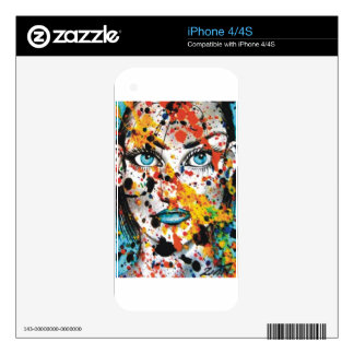 Art Student iPhone 4S Skin