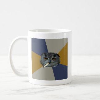 Art Student Owl Advice Animal Meme Coffee Mug