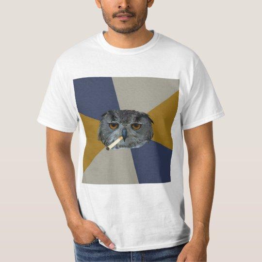 Art Student Owl Advice Animal Meme T-Shirt