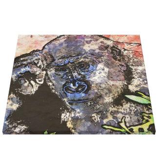 Art Studio 12216 Gorilla Canvas Print