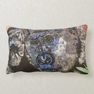 Art Studio 12216 Gorilla Lumbar Pillow