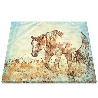 Art Studio 12216 Horse Canvas Print