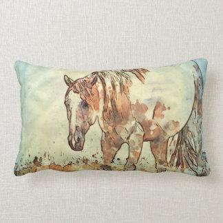 Art Studio 12216 Horse Lumbar Pillow