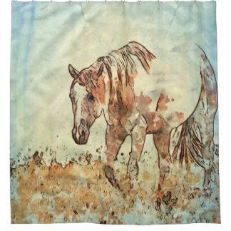 Art Studio 12216 Horse Shower Curtain