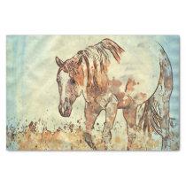 Art Studio 12216 Horse Tissue Paper