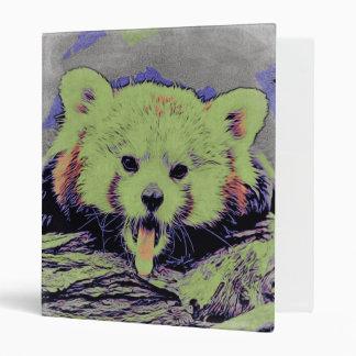 Art Studio 12216 yawning red panda Binder