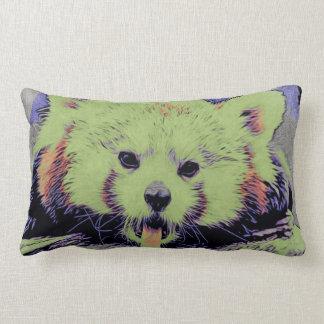 Art Studio 12216 yawning red panda Lumbar Pillow