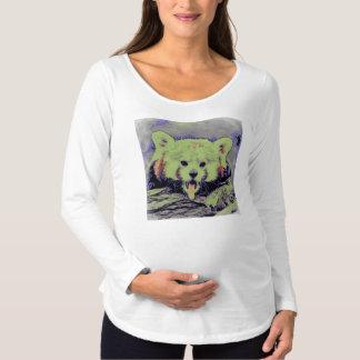 Art Studio 12216 yawning red panda Maternity T-Shirt