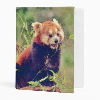 Art Studio 15216 red Panda Mini Binder