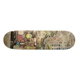 Art Studio San Francisco Skateboard Deck
