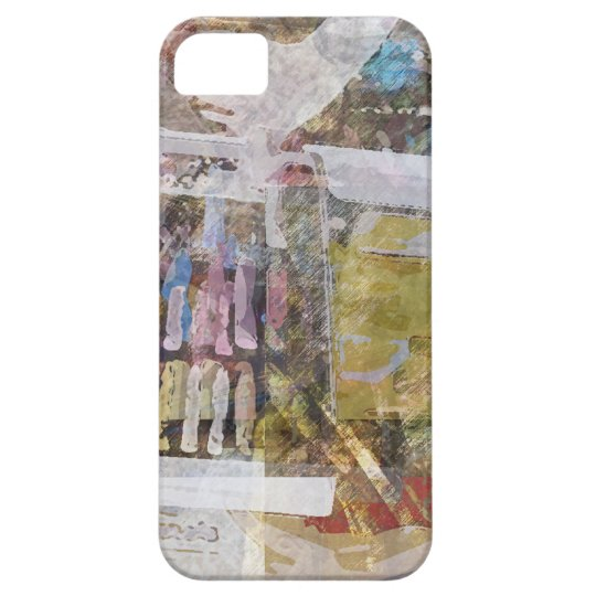 Art Supplies Abstract iPhone SE/5/5s Case