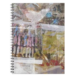 Art Supplies Abstract Journals