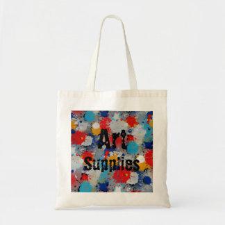 Art Supplies Paint Splatter Organic L.I.F.E. Groce Tote Bag