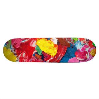 Art Supplies Skateboard