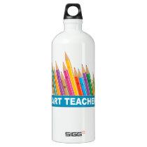 Art Teacher Aluminum Water Bottle