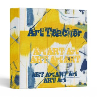 Art Teacher Binder