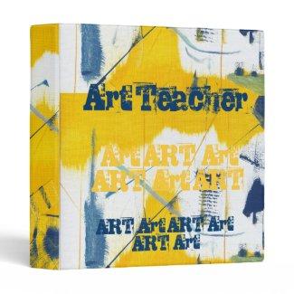 Art Teacher Binder