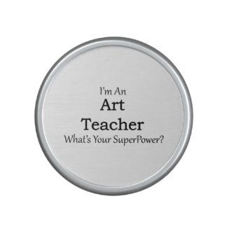 Art Teacher Bluetooth Speaker