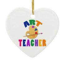 Art Teacher Ceramic Ornament