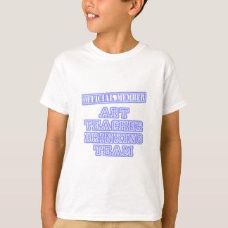Art Teacher Drinking Team T-Shirt