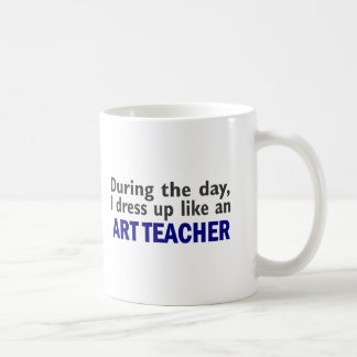 ART TEACHER During The Day Coffee Mug