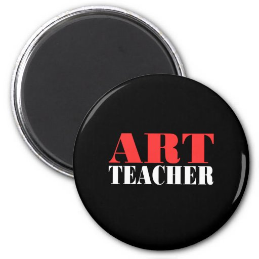 Art Teacher Gift Refrigerator Magnets