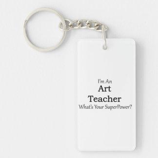 Art Teacher Keychain