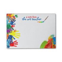 Art Teacher Post-it Notes