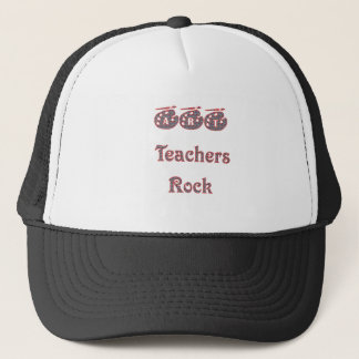 Art teacher rock 2 copy trucker hat