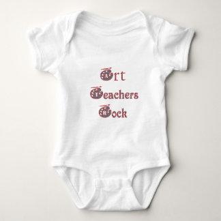 Art teacher rock 3 t shirt