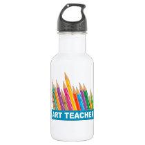 Art Teacher Water Bottle