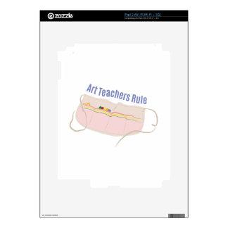 Art Teachers Rule Decal For iPad 2